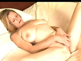 beautiful woman masturbating
