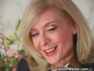 blonde mother i nina stripping and rubbing part0