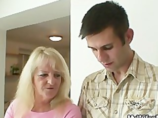 she fucks her son in law after pair of drinks