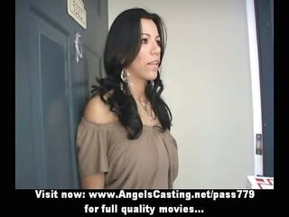 amazing sexy latina does oral-service and rides