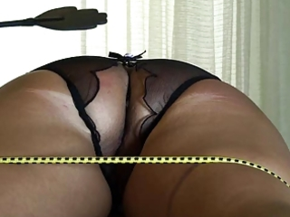 ass punishment of tied wife