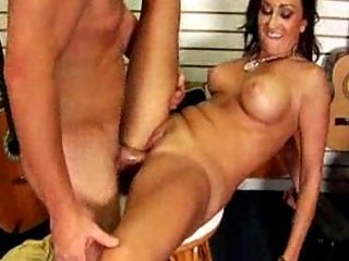 large titty milf doxy fucks the guitar store clerk