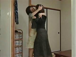 young japanese legal age teenager gets threesome