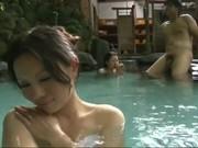 japanese milf hot spring fuck