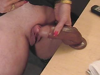 this lascivious granny loves to rub her big