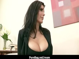 pornstar milf with large boobs rides big cock 17