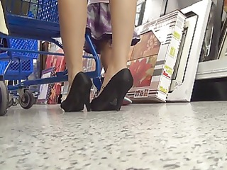 upskirt at the store 4.2