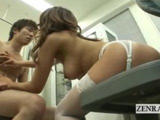 nudist breasty japan milf nurse treats nude male