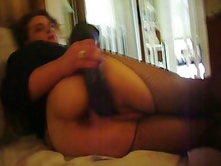wife with toy