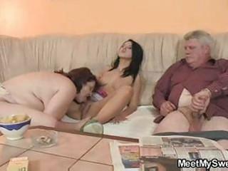 blameless girl is seduced by her boyfriends mama