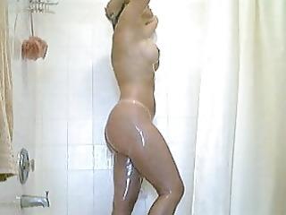 milf in shower