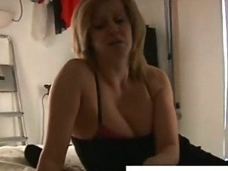 horny older golden-haired lady wishes cock