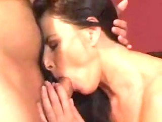hawt mature mommy drilled on family ottoman -