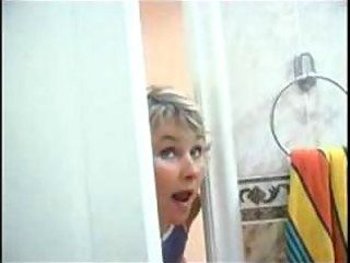 mommy spying on son will he was in shower than