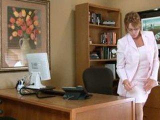 horny office secretary mother i masturbation