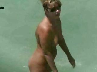 nude beach mature voyeur