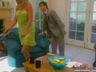 vintage hardcore with a sexy blond milf getting