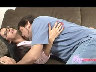sleeping foxy anya acquires licked and drilled