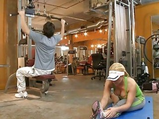 lusty workout with hawt milf
