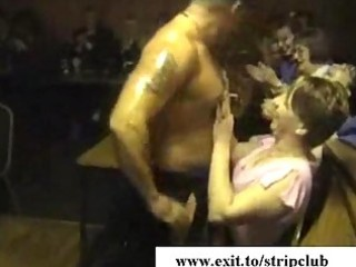 drunk wives attacking ramrods in stripper bar