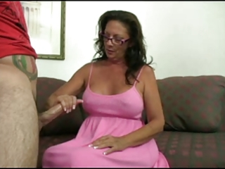 mature give guy a tugjob