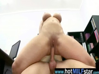 hot milf pornstar get hardcore drilled by large