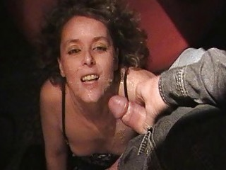 sexy wife sucks off 115 men at the swingers club