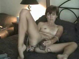 amateur older hairy milf mom solo masturbating