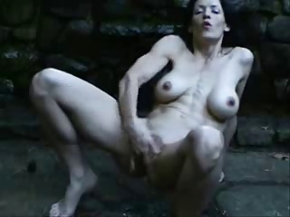 great squirting outdoor of sexy mature. amateur