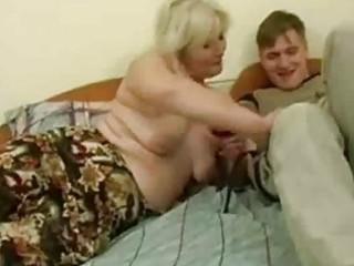 drunk milf seduced by youthful man