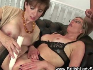 lady sonia and older friend fuck young guy and