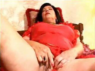 kinky granny orgasms at home