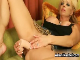 horny golden-haired milf goes avid marital-device