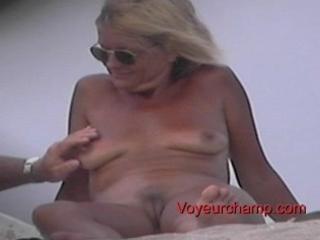 nude beach mother i s teasing!