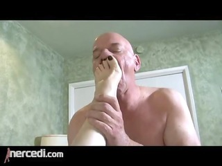 latin aged wife has her feet drilled big tits,