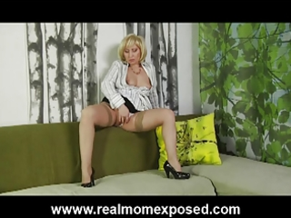 fucked and spunked blonde nympho wife