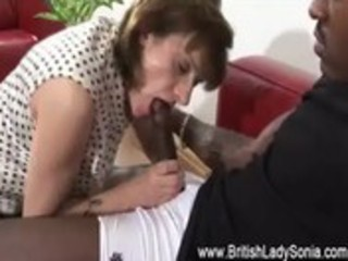 mature brit femdom interracial oral-job