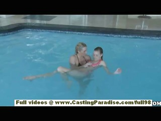 nicole ray and bella cole independent lesbo
