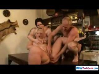 group sex bonanza for three-some fat chicks,