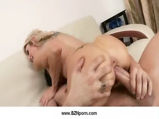 100-busty milfs acquire fucked by large dongs