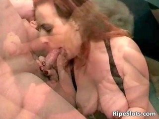 blonde and redhead are two slutty mature