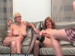 two horny mature wifes having part4