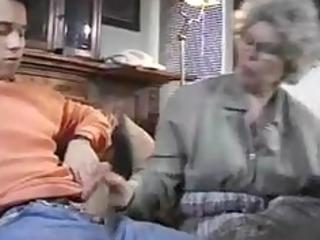 granny and juvenile boy