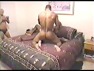 interracial gangbang older wife getting drilled