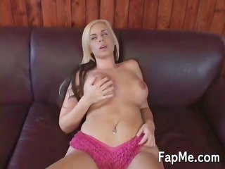 big tit hotty is addicted to a big pecker