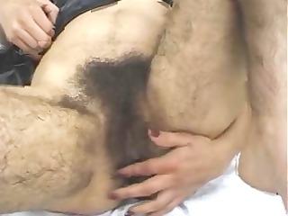 big hairy wet crack
