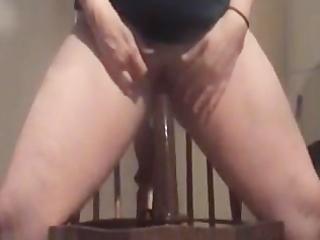 sexy milf bonks big dark sex-toy