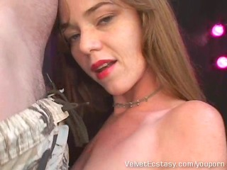 redhead mother i dom handjob and facial