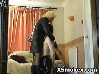 hot perverted wench smokin sexy fetish