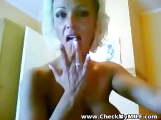 slutty mother i with huge tits talking ribald on